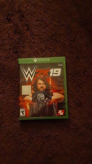 WWE 2k19 for Sale in Sacramento, CA