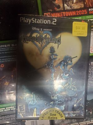 Disney kingdom hearts (PS2 GAME) for Sale in Northfield, OH