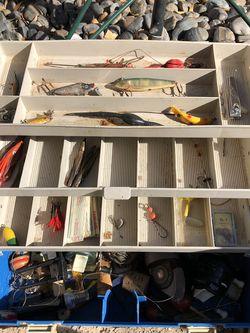 3 Plano Fishing Tackle Boxes for Sale in Sun City,  AZ