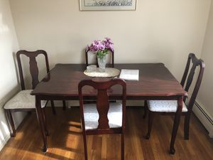 Table for chairs and for Sale in Matawan, NJ