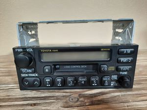 Toyota car stereo OEM Toyota 2000 2001 2002 part 86120-0c010 for Sale in Kalama, WA