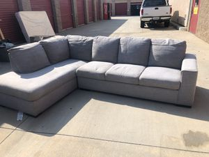 Grey Couch for Sale in Perris, CA