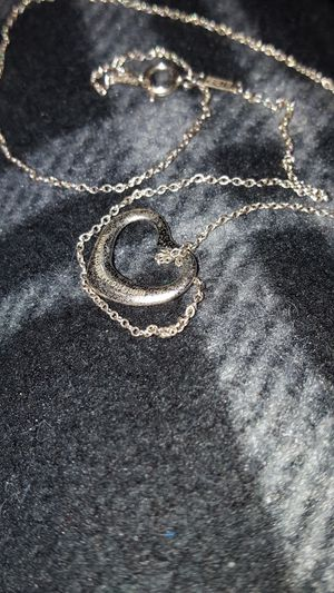 Tiffanys floating heart necklace for Sale in Hermitage, TN