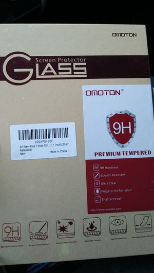 Kindle Fire 7 Kids Edition Glass Screen Protector for Sale in Baltimore, MD