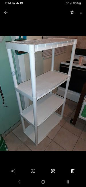 $10 Plastic Garage Shelves Storage Unit for Sale in Deerfield Beach, FL
