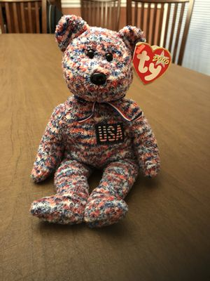 USA Beanie Baby Bear for Sale in Centreville, VA