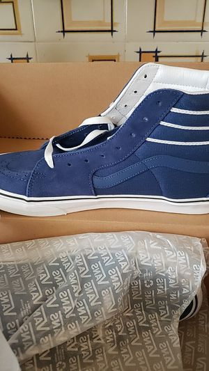 Vans, blue new size 12 for Sale in Chicago, IL