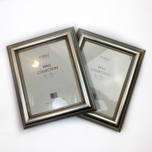 (2) New Furio Home Wall Collection 8x10 Silver for Sale in Princeton, NJ
