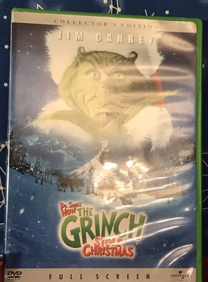 Grinch Movie DVD for Sale in St. Louis, MO