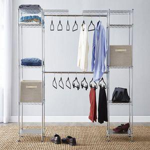 "Basics Expandable Closet organizer 58""W-83""W for Sale in FL, US"