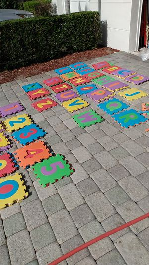 Toys r us alphabet and numbers for Sale in Lake Worth, FL