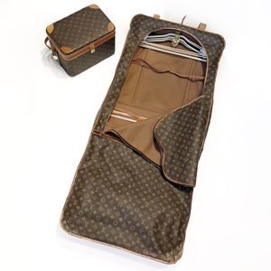 Authentic Vintage Louis Vuitton Carry Case and Garment Bag for Sale in Peabody, MA