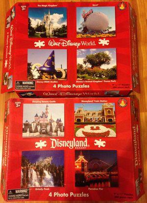 Disneyland Disney World Puzzles for Sale in Huntington Beach, CA