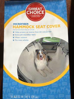 New Pet Hammock Seat Cover for Sale in Glen Ellyn, IL