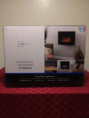 LED freestanding or wall mounted fireplace for Sale in Anchorage, AK