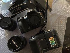 Olympus E-510 & Nikon 995 for Sale in Concord, CA