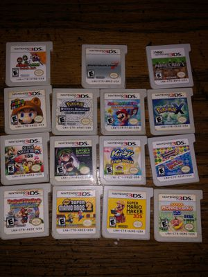 3DS games for Sale in Sanger, CA