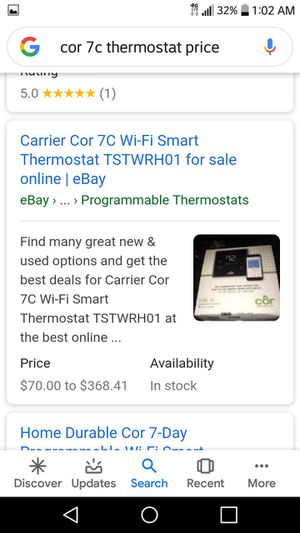 Cozi thermostat for Sale in Tampa, FL