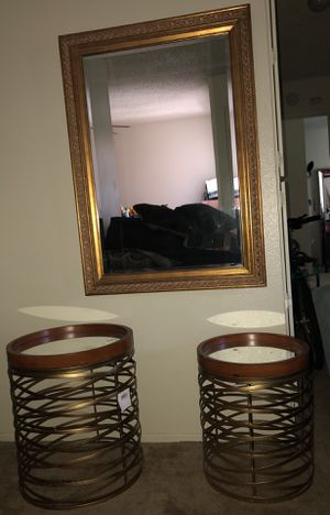 Mirror-tables combo for Sale in Riverside, CA