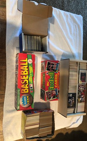 1980' s and 90's football and baseball cards for Sale in San Jose, CA