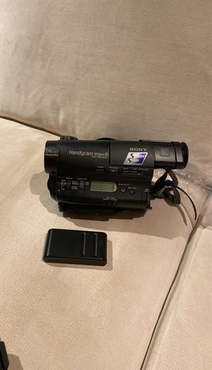 Sony Video camera for Sale in Morgan Hill, CA