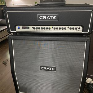 Crate FlexWave Half Stack with FW120H Amplifier Head and FW412A Guitar Cabinet for Sale in Carol Stream, IL