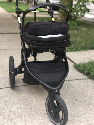 Graco Fitfold jogger system. for Sale in Chicago, IL