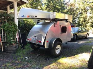 Tear drop camper trailer for Sale in Snohomish, WA
