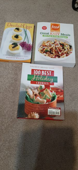 Cook books for Sale in San Bruno, CA