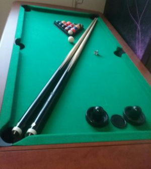 2-in-1 sportcraft pool/air hockey table for Sale in Seattle, WA