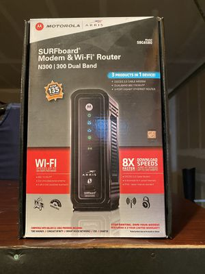Modem and WiFi router SBG 6580 for Sale in Sherwood, OR