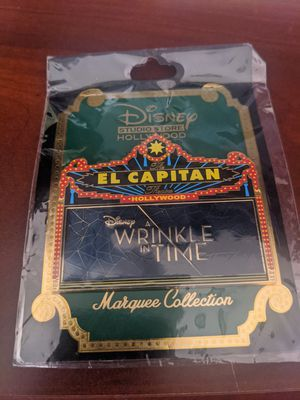 Disney Wrinkle in Time Marquee Pin LE 300 DSF for Sale in Chandler, AZ