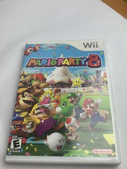Nintendo Wii Mario Party 8 Complete for Sale in Sunol,  CA