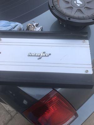 Interfiere 1000 watt amp for Sale in Fresno, CA