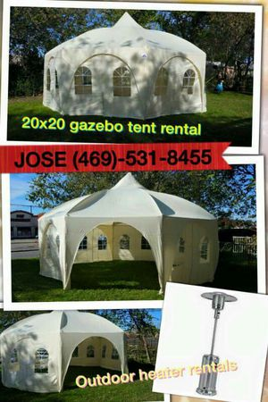 20x20 octogonal tent for Sale in Mesquite, TX