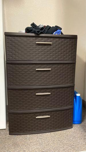 Plastic Dresser Drawers for Sale in McPherson, KS