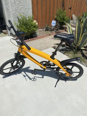 Zimo 2X Pro Electric bicycle, yellow, $800 OBO for Sale in Oceanside, CA