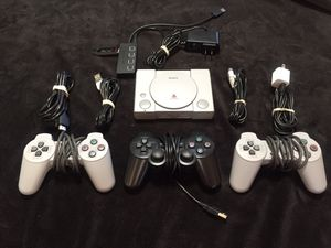 Sony PlayStation Classic, Modded, 606 PlayStation Games, 2 Controllers, 2 controller extensions, Every Top PlayStation game on the system for Sale in Battle Ground, WA