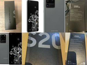 GREAT OFFER!!! Samsung s20 ultra 5g 512gb cosmic grey for Sale in Manassas, VA