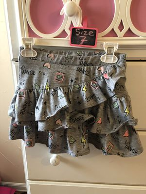 Girls justice skirt size 7 for Sale in Colton, CA