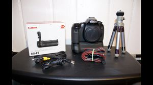 Canon EOS 60D w/ BG-E9 Battery Grip ( & more! ) for Sale in Stratford, CT