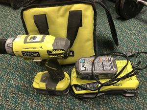 Drill , Tools-Power Ryobi 2 Batteries & Charger .. Negotiable for Sale in Baltimore, MD