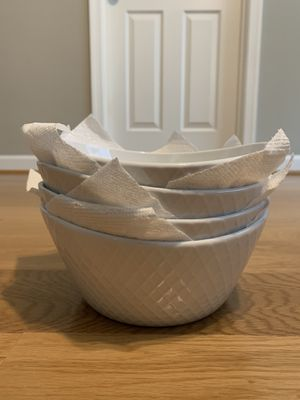 4 New Porcelain Bowls for Sale in Fairfax, VA