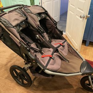 Double bob stroller for Sale in Huntington Beach, CA