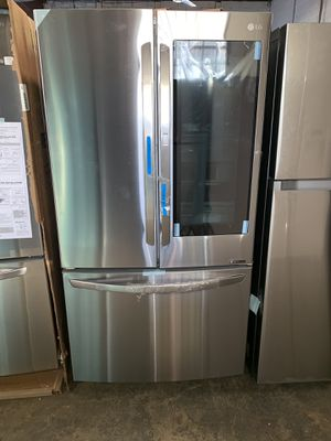 Brand new LG 27cu ft. Instaview french doors refrigerator with warranty for Sale in Baltimore, MD