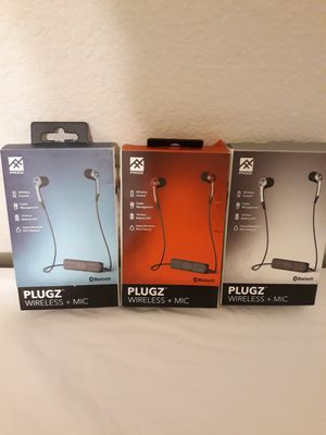3 Pieces Ifrogz Bluetooth Headphones for Sale in Murphy, TX