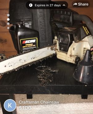 Craftsman Chainsaw for Sale in Windham, NH