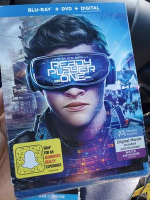 Ready player one blu ray for Sale in Gardena, CA