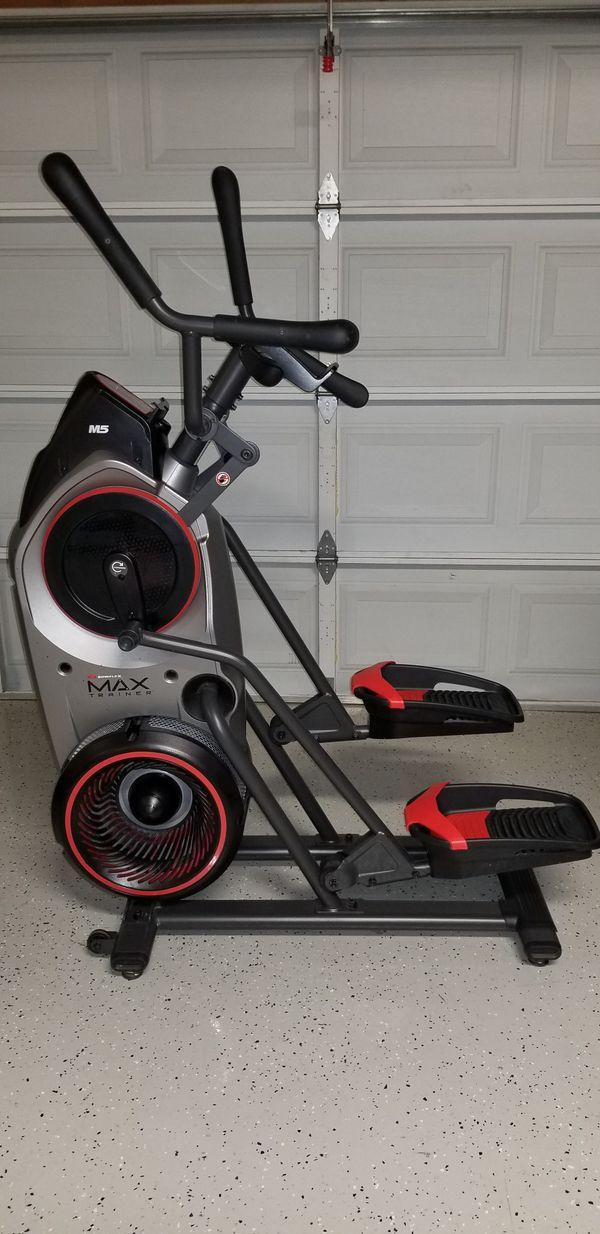 Bowflex Max Trainer M5 Eliptical Treadmill Treadclimber Stairmaster