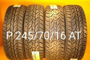 4 New tires P 245/70/16 AT llantas nuevasw for Sale in Chula Vista, CA